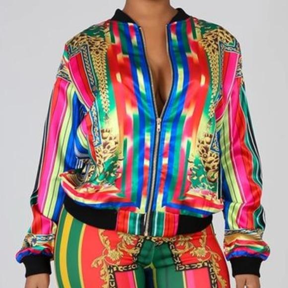 ultrachicfashion.com Jackets & Blazers - Multi-color Jacket
